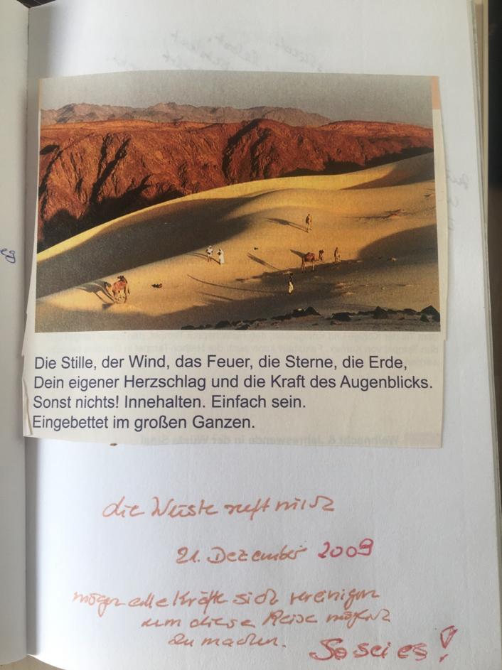 Wüsten-Vision, Marocco,